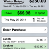 Track Your Weekly Budget & Spending With iphone apps(MyWB)